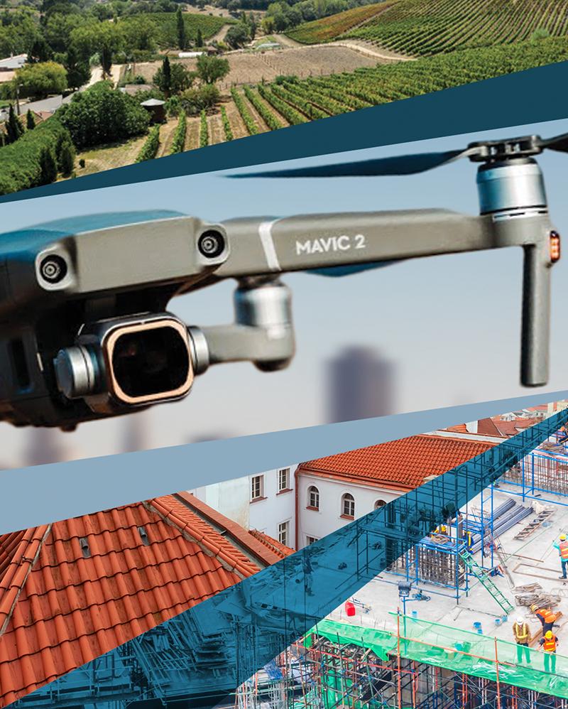 servizi con droni
